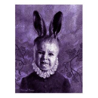 Baby Mutant Bunny Postcard
