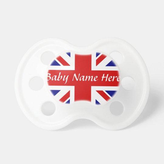 Baby Name +The Union Jack Flag Dummy