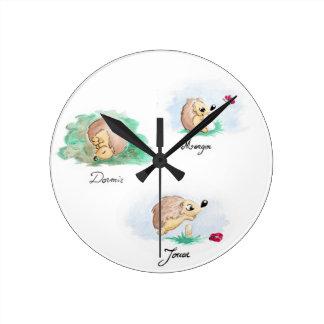 Baby Nap Round Clock