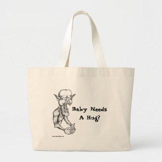 Baby Needs A Hug? Canvas Bags