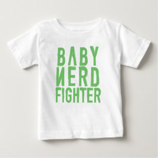 Baby Nerdfighter Green Baby T-Shirt