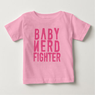 Baby Nerdfighter Pink Baby T-Shirt