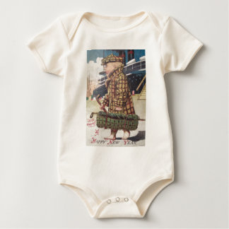Baby New Year Cigar Golf Bag Ship Baby Bodysuit