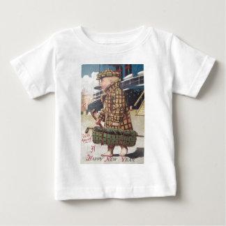 Baby New Year Cigar Golf Bag Ship Baby T-Shirt