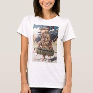 Baby New Year Cigar Golf Bag Ship T-Shirt