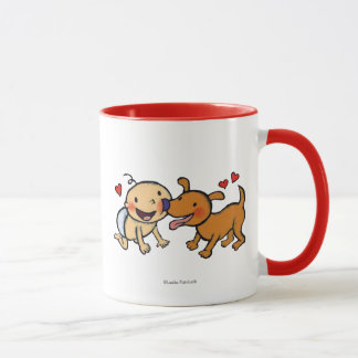 Baby Nose Kisses from the Dog Mug