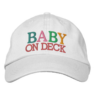 Baby on Deck Embroidered Baseball Caps