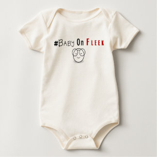Baby on fleek baby bodysuit