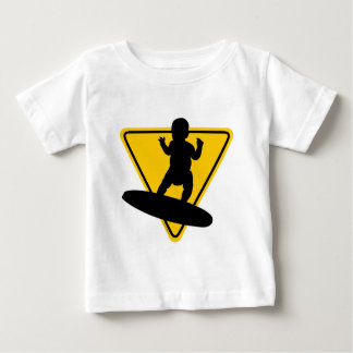 Baby on (Surf) Board Baby T-Shirt