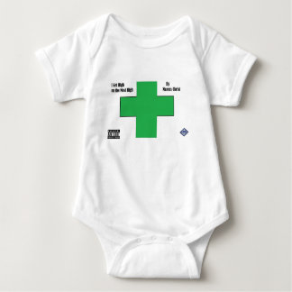 Baby on the Most High Baby Bodysuit