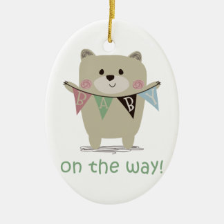 BABY ON THE WAY CHRISTMAS ORNAMENT