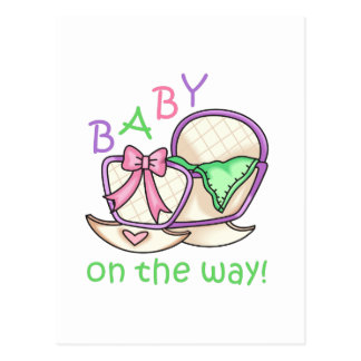 Baby On The Way! Postcard