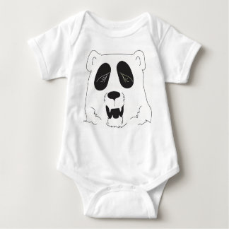 Baby one-piece body suit - Panda bear Baby Bodysuit