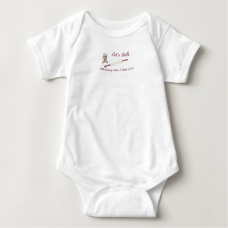 Baby Onesy, Country Take N Bake Pizza Logo Baby Bodysuit