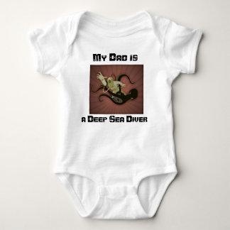 Baby onsie deep sea diver baby bodysuit