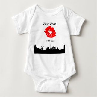 Baby onsy, From Paris Baby Bodysuit