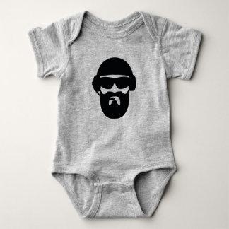Baby Operator Tactical Beard Baby Bodysuit