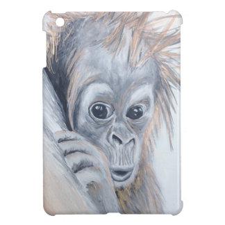 Baby-Orangutan iPad Mini Cover