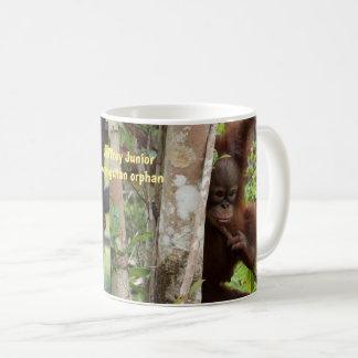 Baby Orangutan Jeffrey Junior of Borneo Coffee Mug