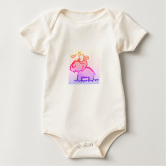 BABY ORGANIC BODYSUIT - BABY HIPPO