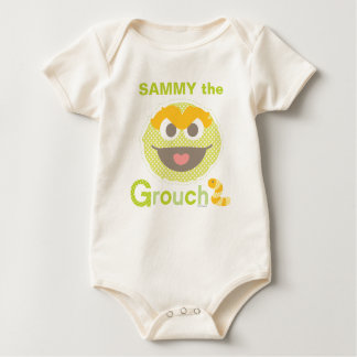 Baby Oscar Grouchy | Add Your Name Baby Bodysuit