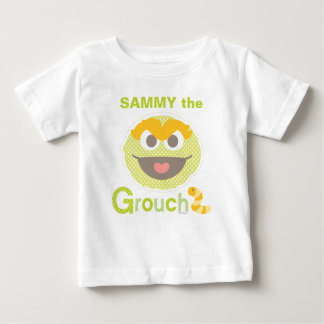 Baby Oscar Grouchy | Add Your Name Baby T-Shirt
