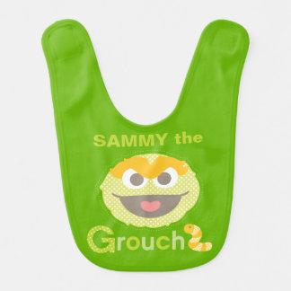 Baby Oscar Grouchy | Add Your Name Bib