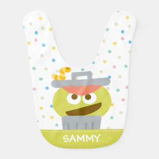 Baby Oscar the Grouch | Add Your Name Baby Bibs