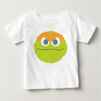 Baby Oscar the Grouch Big Face Baby T-Shirt
