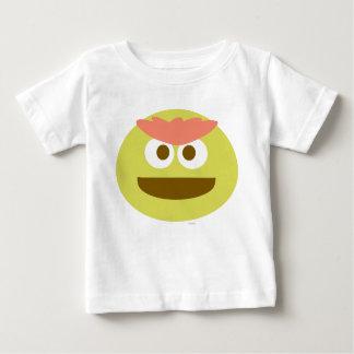 Baby Oscar the Grouch Face Baby T-Shirt