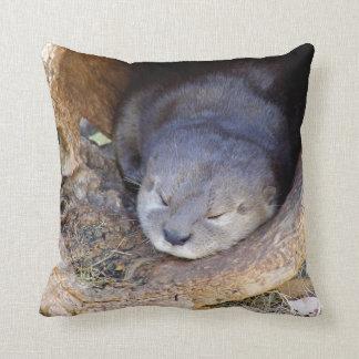 Baby Otter Cushion