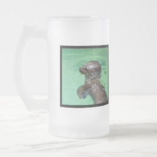 Baby Otter  Frosted Mug