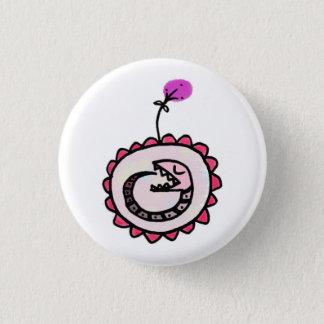 baby ouroboros 3 cm round badge