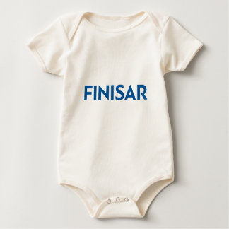 Baby Outfit with Finisar logo Baby Bodysuit