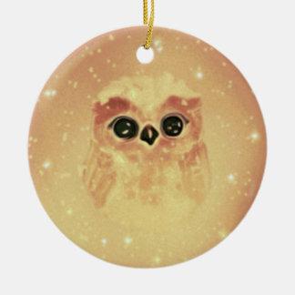 baby owl christmas ornament