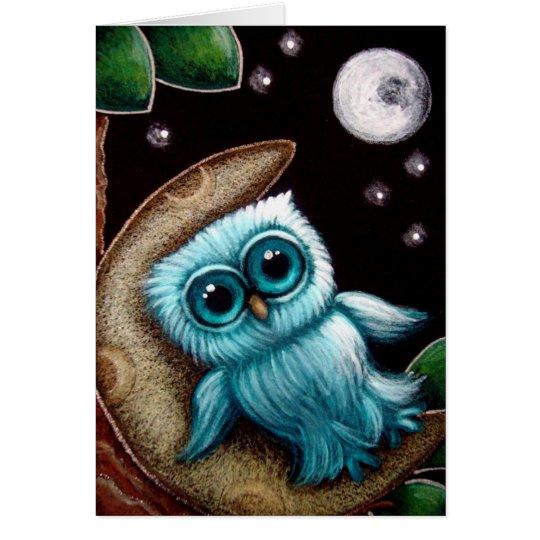 BABY OWL DREAM CUSTOMIZE Card