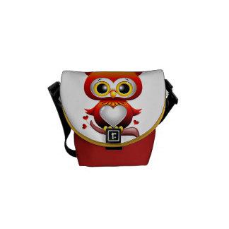 Baby Owl Love Heart Cartoon Messenger Bag