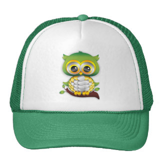 Baby Owl Paper Craft Hat