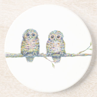 Baby Owls - 'Connection' Coaster