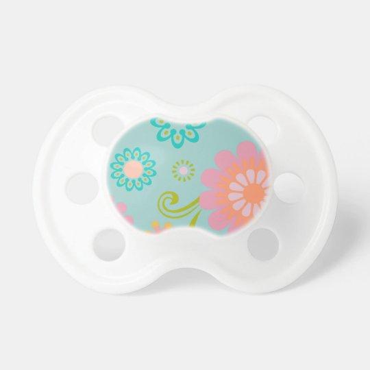 Baby Pacifer-modern floral Dummy