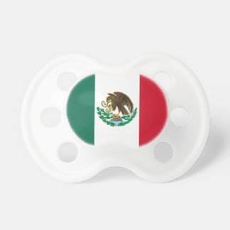 Baby Pacifier Mexican Flag