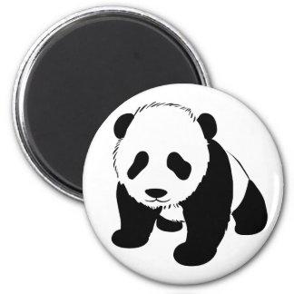 Baby Panda 6 Cm Round Magnet