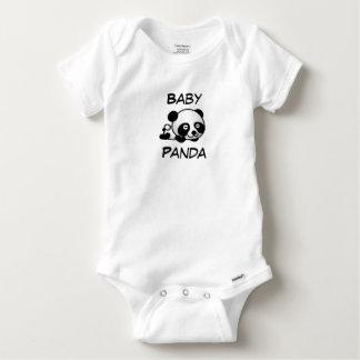 Baby Panda Baby Onesie