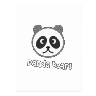 Baby Panda Cartoon Post Card