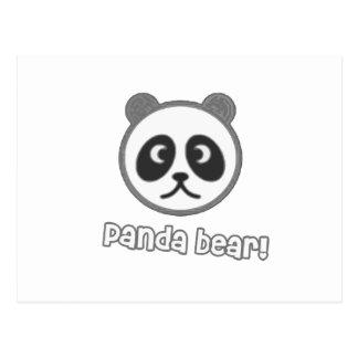 Baby Panda Cartoon Postcard