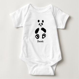Baby Panda Girl Boy t-shirt White Pink Blue