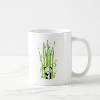 Baby Panda in Bamboo Forest Coffee Mug