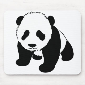 Baby Panda Mouse Mats