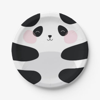 BABY PANDA PAPER PLATES 7 INCH PAPER PLATE