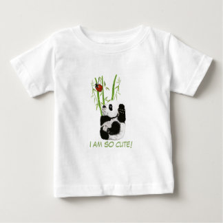 baby panda shirt, I am so cute! Baby T-Shirt